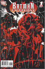 Batman Cacophony  #1  Regular Cover  January 2009