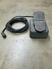 Hobart Welding Rheostat Amper Control Foot Pedal For Tig Welder 10 Pin Cable