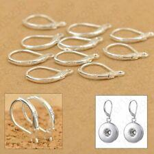 100PCS Jewellery Accessories 925 Sterling Silver DIY Earring Hooks Lever Back