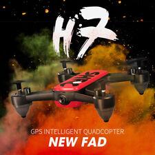 SHRC 5G Wifi GPS RC Drone 4K HD Dual Camera FPV Selfie Follow Me Quadcopter Red