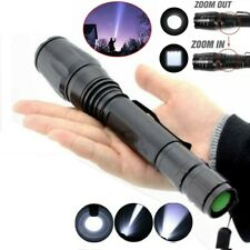 Ultra Bright 990000LM LED Zoomable Flashlight Torch Lamp Police Tactical Light