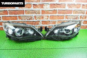 Original Japan Headlights Xenon Subaru Impreza WRX Sti GH GE 2007 - 2014
