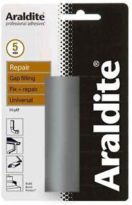 Araldite Repair Bar- Solvent Free Multi Purpose Repair Putty - 50g 6, 12, 24 Pcs