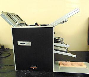 "Standard ProFold Model 1420BF  14"" X 20"" Table Top Paper Folder Power Up  SR229x"