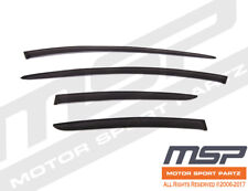 Outside Mount 2MM Vent Visors Deflector 4pcs For Toyota Prius 04 05-09 2004-2009