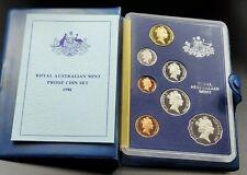 1986 Royal Australian Mint Gem Proof Set Ogp Album Coa Combo Ship Discounts