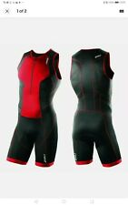 New listing 2XU Perform Front Zip Trisuit Size: XS Colour: Black/High Risk Red