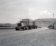 "1960's Mack Semi Truck hauling lumber out west Trucking 8""x 10"" Photo 32"