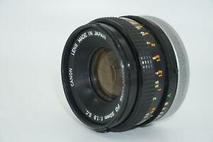 Canon FD 50mm f/1.8 standard prime lens
