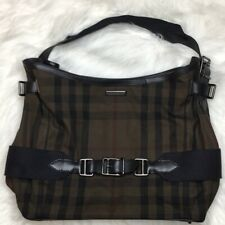 Burberry Prorsum Black Plaid Hobo Purse Authentic No flaws!