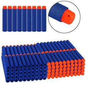 50-500 Nerf Darts Refill Foam Bullets Round Head Blasters For Nerf Gun N-Strike