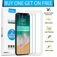 Quality 9H Tempered Glass Film Screen Protector For Apple iPhone X 10 Phone