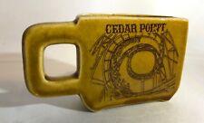 Vintage 1970's Cedar Point Amusement Park Coffee Mug Souvenir Sandusky Ohio