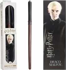 OFFICIAL HARRY POTTER DRACO MALFOY TOY WAND WITH LENTICULAR BOOKMARK