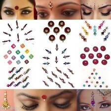 Bindis Indischer Stirnschmuck Bollywood Body Sticker Tikka Fasching Sari