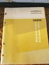 1968 Harley-Davidson M-50, M-50S, M-65 & M-65S Parts Catalog