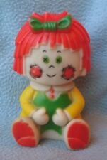 Vintage Stahlwood Raggedy Ann Squeak Squeeze Toy Bobbs Merrill
