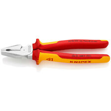 Knipex 225mm High Leverage Combination Pliers 1000V VDE Insulated 02 06 225