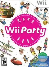 Wii Party - Nintendo Wii [Over family friendly 70 mini-games in all] Brand NEW