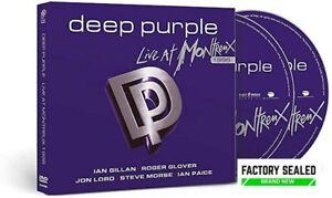 Deep Purple – Live At Montreux 1996 CD & DVD Bonus Track Edition Digipak NEW