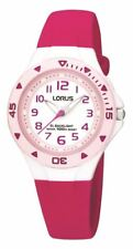 Lorus Ladies/Kids Pink 100M Sports Watch Pink Strap R2339DX9