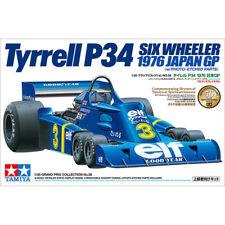 TAMIYA 20058 Tyrell P34 6 Wheeler 1976 Japan GP 1:20 Car Model Kit