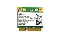 INTEL WiFi Link 5100 512AN_HMW A/G/N Dual Band WiFi WLAN Half Mini PCIe Card