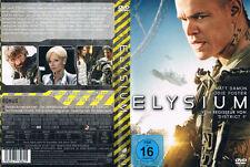 ELYSIUM --- SciFi --- Matt Damon --- Jodie Foster --- Sharlto Copley ---