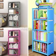 5Tier Storage Bookcase Bookshelf Display Shelving Storage Unit Cabinet