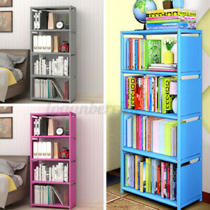 5Tier Storage Bookcase Bookshelf Display Shelving Storage Unit Cabinet