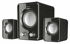 Trust Ziva Compact 2.1 PC Speakers with Subwoofer for Computer and Laptop, 12 W,