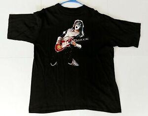 Vintage KISS Band T-Shirt ACE FREHLEY Reunion Tour Concert Guitar Shirt UNWORN