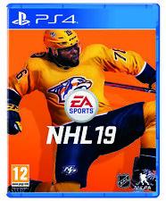 NHL 19 Sony Ps4 Game (uk & ) Licensed Ice Hockey Simulation EA Sports