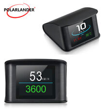HUD Display  P10 2.2 Inch  Smart Driving Computer Heads Up  OBD 2  Speedometer