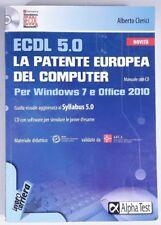 ECDL 5.0 La patente europea del computer windows 7 Office 2010 - CON CD