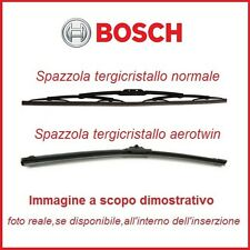 3397118400 Coppia Spazzole tergicristallo Bosch anteriore