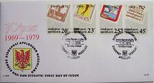 Stadspost Apeldoorn 1979 - FDC 10 jaar Stadspost Apeldoorn (zegel reproducties)