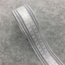 """5yds 1"""" 25mm Organza Ribbon Bow Wedding Decoration Lace Craft DIY Trim Sewing CA"""