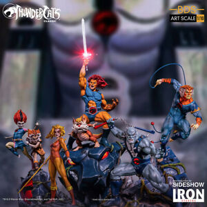 Iron Studios Thundercats Art Scale Complete Statue Set of 5 Statues New In Stock