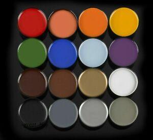 Mehron Color Cup Foundation Grease Clown Makeup Multi Colors Halloween Mardigras