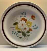 """💐 FOUR SEASONS vintage 💐 EARLY SUMMER stoneware DINNER PLATE  10 3/4"""""""