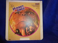 Planet of the Apes (1967), 20th Century Fox Presents,CED VideoDisc RCA Select