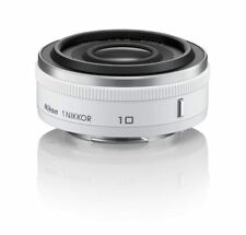 Nikon single-focus lens 1 NIKKOR 10mm f / 2.8 white Nikon CX format JAPAN