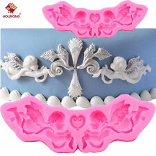 3D Silicone Princess Cupid Angel Fondant Mould Cake Pudding Ice Mold DIY Tool