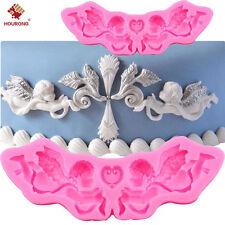 3D Silicone Princess Cupid Angel Fondant Mould Cake Pudding Ice Mold DIY Tool