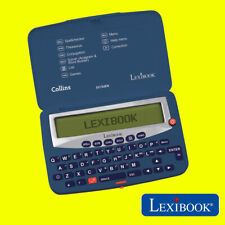 More details for collins dc753en electronic spellchecker and thesaurus in blue