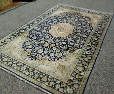 Persian Kashan Oriental Rug Beautiful Carpet Indian Hill Rug Dealer'S Estate