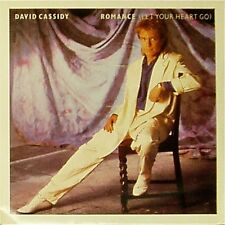 """DAVID CASSIDY 'ROMANCE (LET YOUR HEART GO)' UK PICTURE SLEEVE 7"""" SINGLE"""