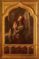 More details for stilke hermann anton joan of arc in prayer a3 box canvas