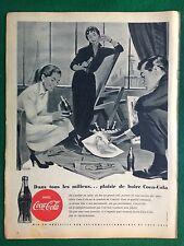 AM76 Pubblicità Advertising Clipping (1954) BUVEZ COCA COLA ill. Wirts